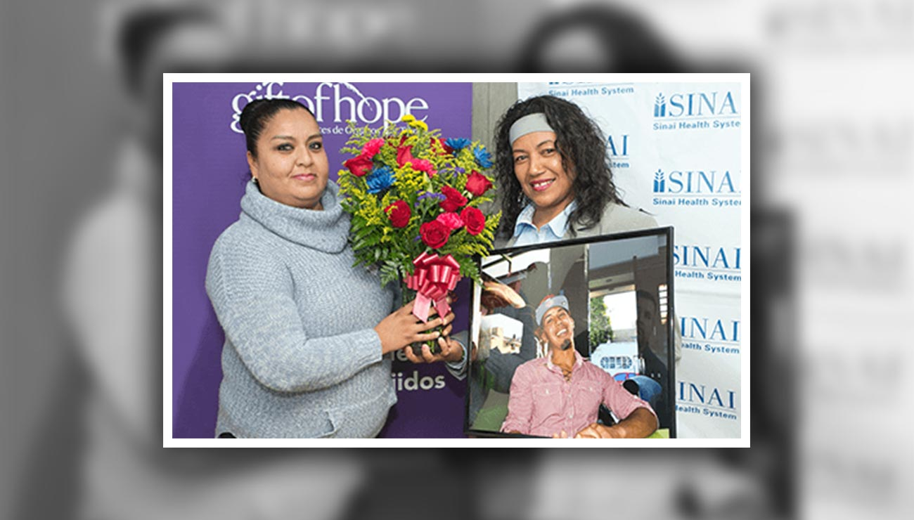 Mount Sinai, Donor Family Honored for Donation Support