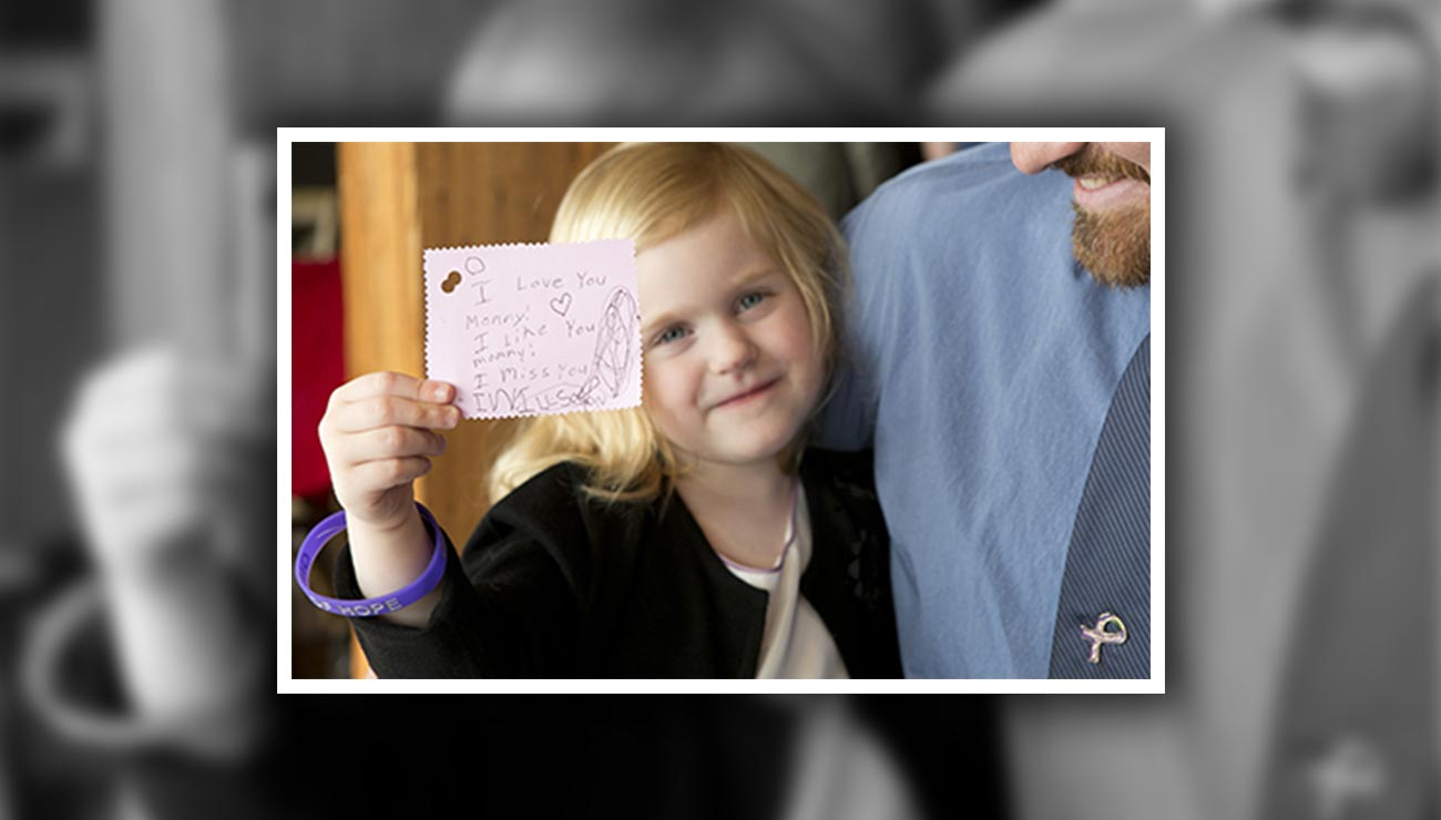 Portraits of Hope Event Honors Donors, Family Members